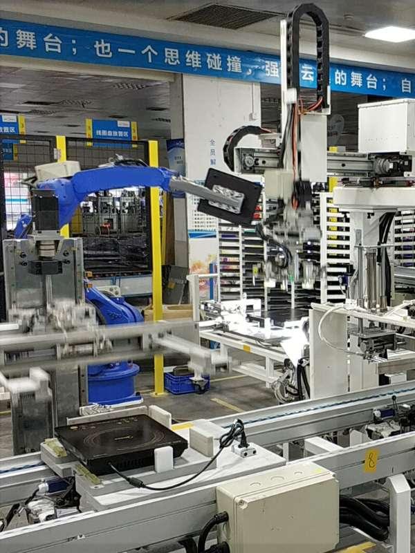 美的电磁炉自动化生产线